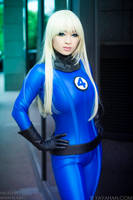 Sue Storm - Invisible Woman Cosplay by yayacosplay