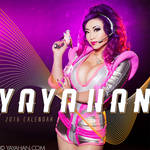 Yaya Han 2016 Cosplay Calendar - Front Cover