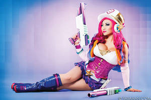 New Arcade Miss Fortune image! Also, Sale is live! by yayacosplay