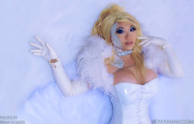 Emma Frost on Ice