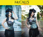NOW AVAILABLE! Yaya's Cupped Corset Pattern