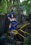 New Costume - Kitana from Mortal Kombat X by yayacosplay