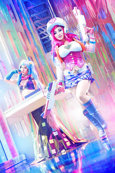Arcade Miss Fortune and Sona