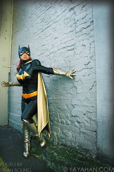 Batgirl in the Alley