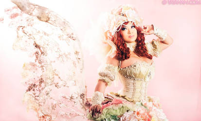 Sakizou Princess White Rose