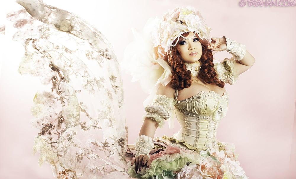 Sakizou Princess White Rose by yayacosplay