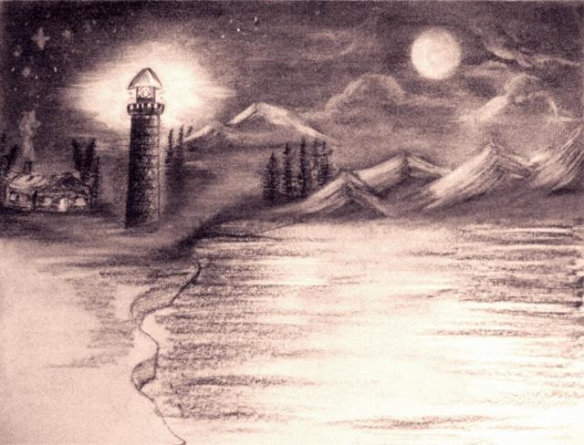 Night Glow by BernadetteCross