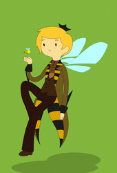 Comm: Prince Honey Bee by freetarded