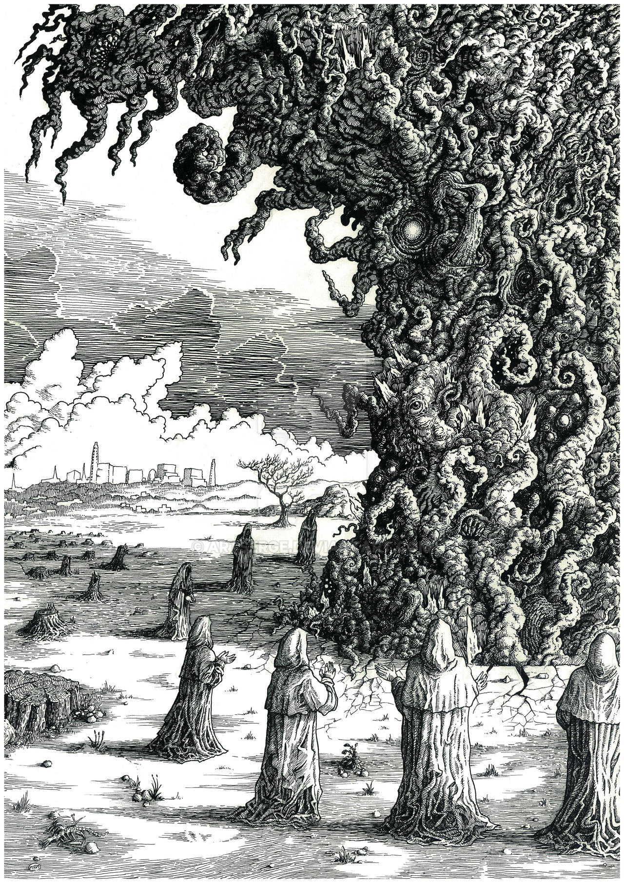 Fukushima Conjuration by artserge