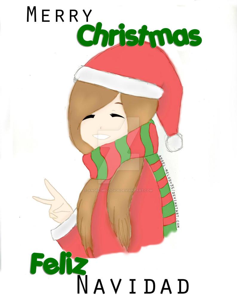 .: Merry Christmas - Feliz Navidad 2014 :. by Angel-Melody35