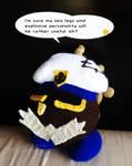 Paper Mario: TTYD - Admiral Bobbery