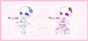 [closed] Outfit Adopts 008-009