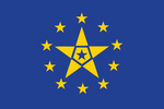 [Fictional] European Federation Flag IX