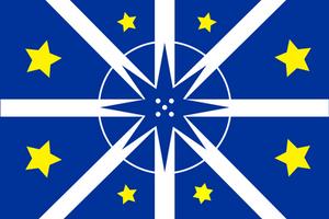 [OC] Bandeira Lusosfera/Flag of Lusosphere by vexilografia