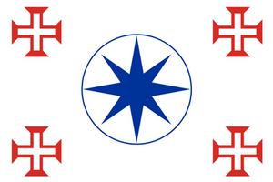 [OC] Flag of Lusophony/Bandeira da Lusofonia
