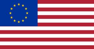 [Fictional] Euromerica flag, or TTIP flag