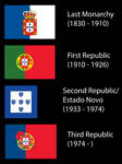 Alternate Flag History Portugal