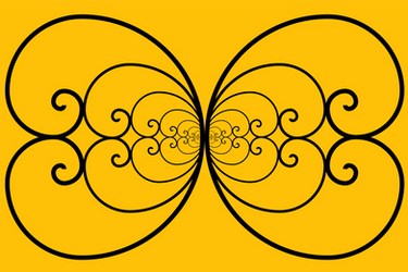 [OC] Folded Fibonacci by vexilografia