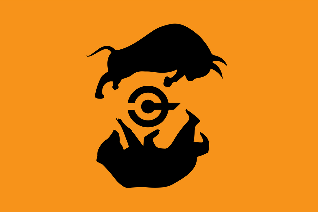 [OC] Cryptocurrency trading flag by vexilologia