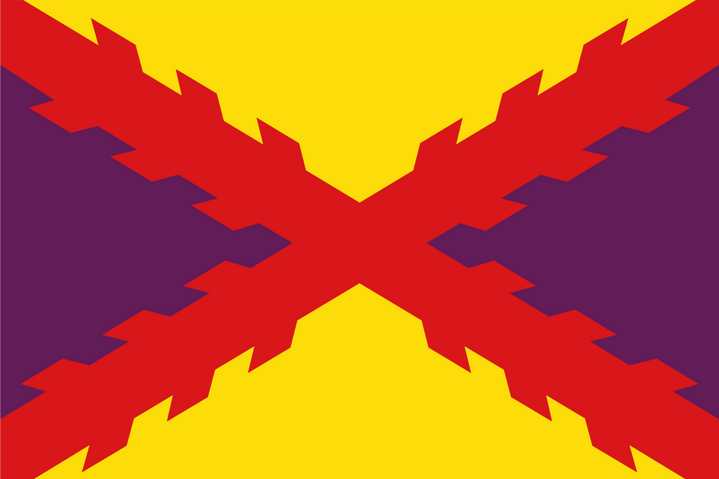 [Fictional] Spanish Republic Naval Ensign by vexilografia