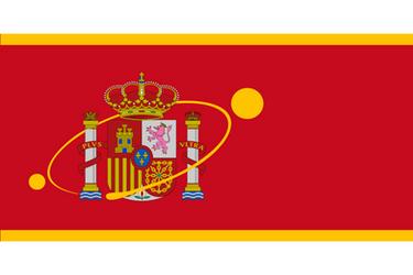 [Fictional] Flag of Martian Spain Colony