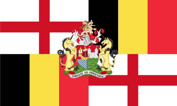 [OC] England and Belgium