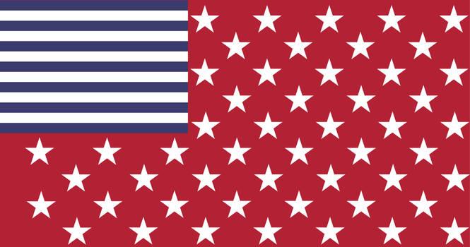[Redesign] Inverted 51 Star USA Flag