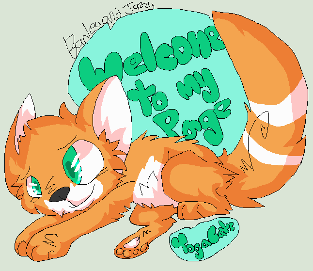 Welcome Badge gift thing by YogaCats