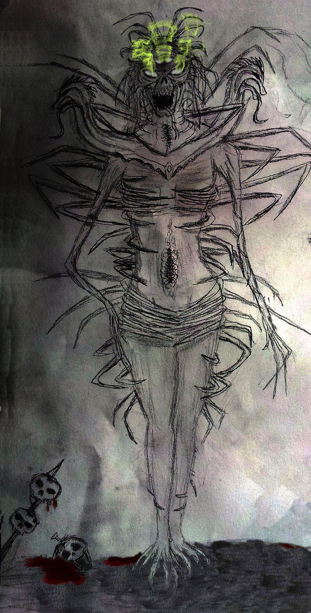 Vaermina- daedric Lord of Nightmares by Spynder4