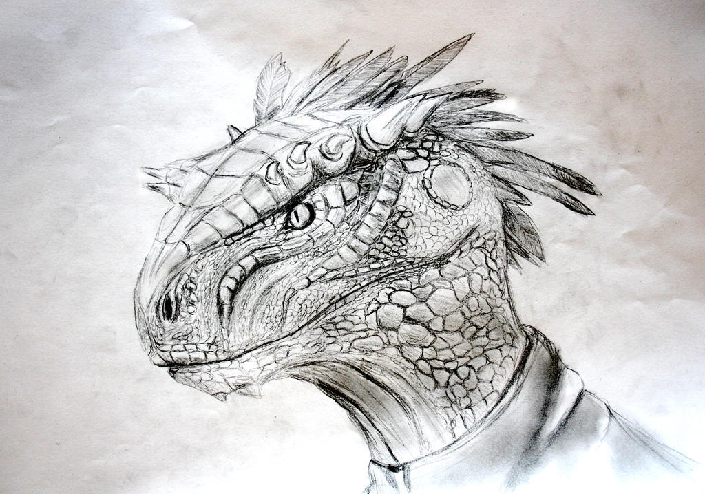 Argonian face (photographed version)