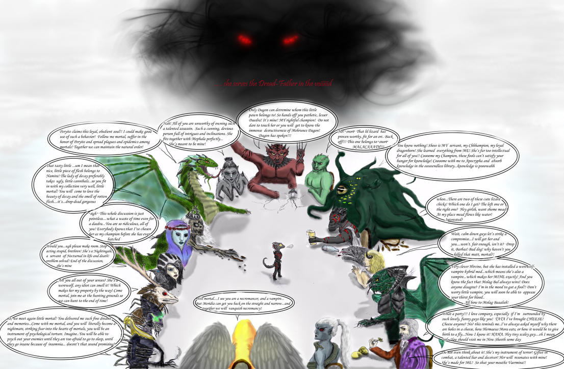 Daedric debate + Sithis by Spynder4