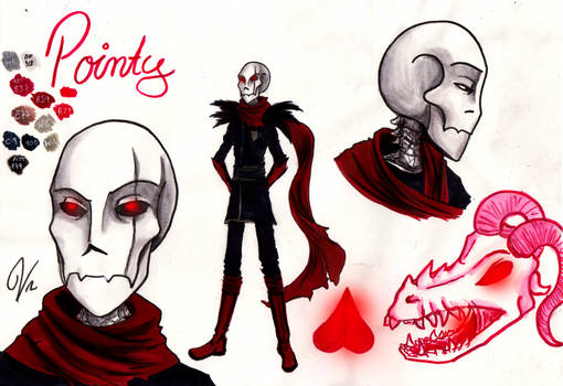 Character Sheet - Pointy by VanGold