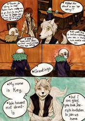 A Wolf and a Violet meet in a bar... (Part 1) by VanGold