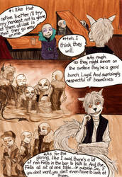 A Wolf and a Violet meet in a bar... (Part 4) by VanGold
