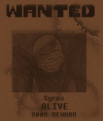 Wanted - Syrus by VanGold