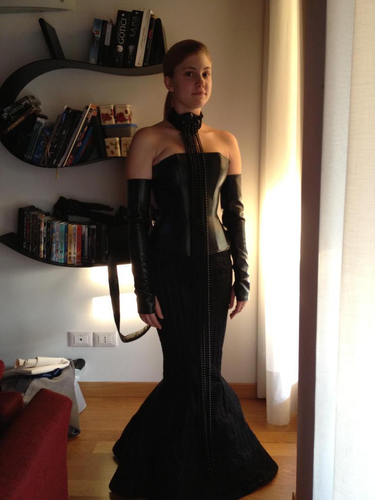 Padme corset gown cosplay by GrimildeMalatesta on DeviantArt Malin Akerman