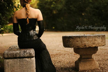 Padme-corset gown by GrimildeMalatesta