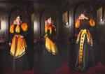 Victorian Volcano dress