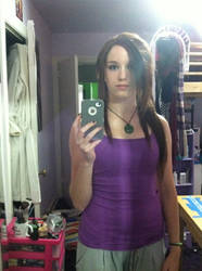 Lara Croft Wig and Makeup Test by Dye-Another-Day