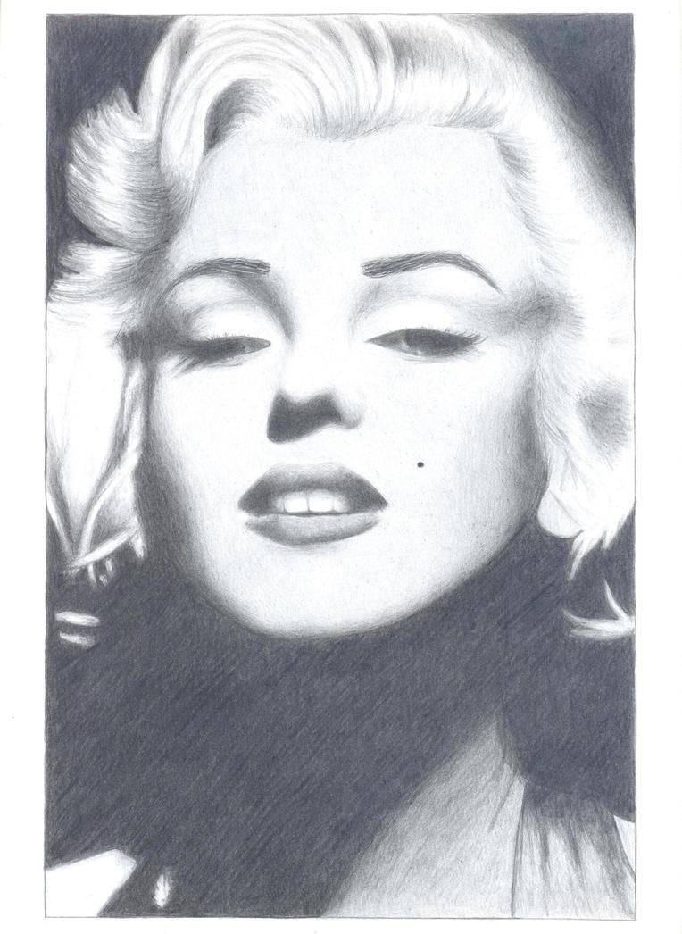 Marilyn Monroe by AnaLuiza-baka