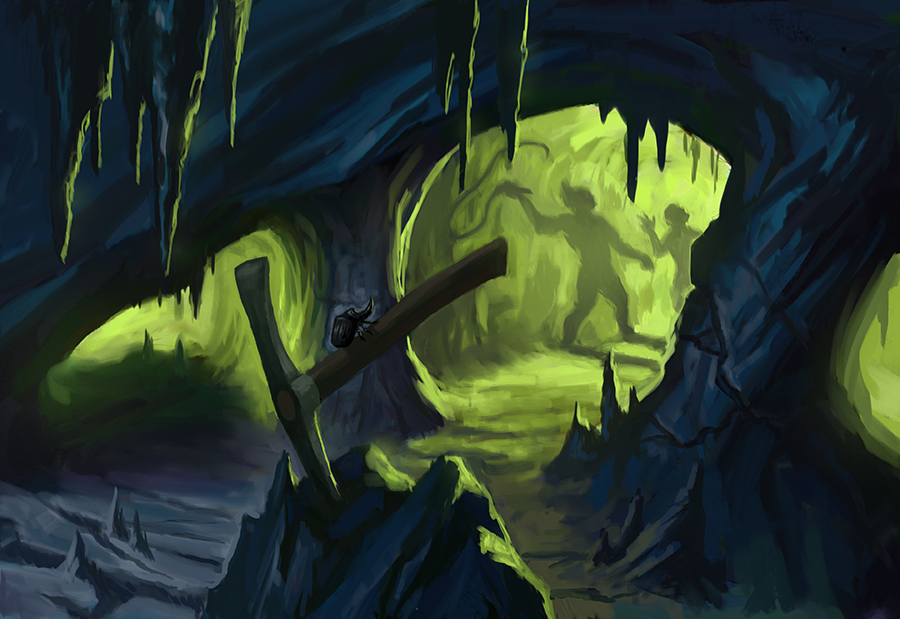 Corrupted Copper Mine by Level20Artist