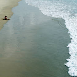 alone with the ocean
