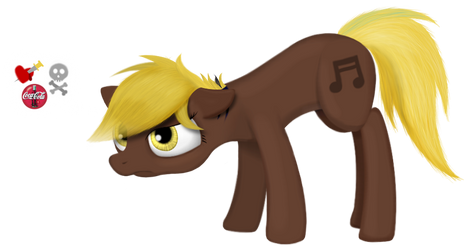 Munk is a pony!