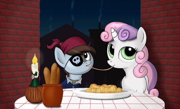 Little Pip's big date