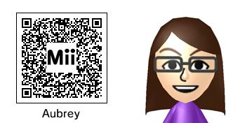 My 3DS Mii QR Code by ruroken7