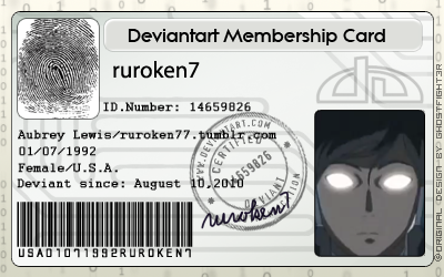 dA ID card by ruroken7