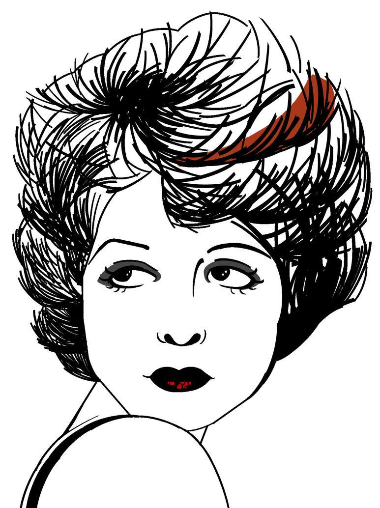 Clara Bow Type-Face by nin10doh