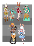 (CLOSED) AUCTION: Eggs, birbs and buns