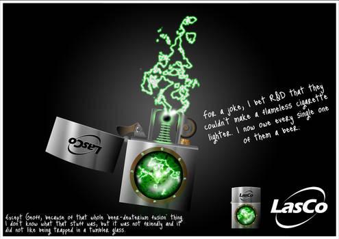 LasCo UI-550 C.L.I.C.K Mock-up