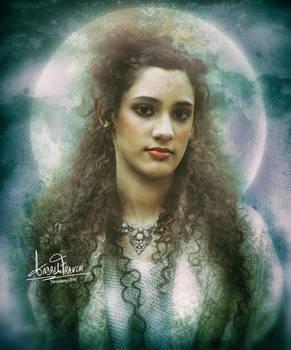 The full moon woman